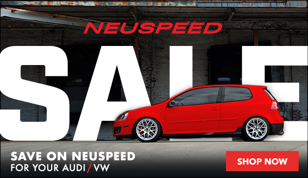 10% Off Neuspeed for your VW/Audi