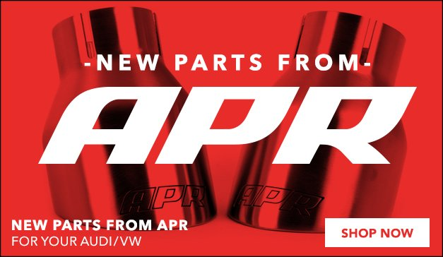 New Products from APR for your Audi/VW