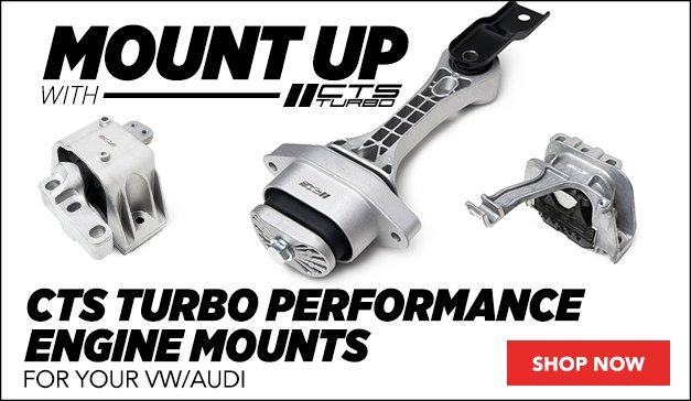 CTS Turbo Performance Engine Mounts | VW/Audi