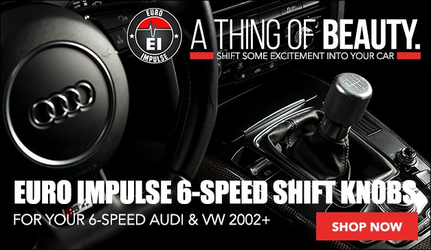 Euro Impulse Weighted 6-speed Shift Knobs | VW/Audi