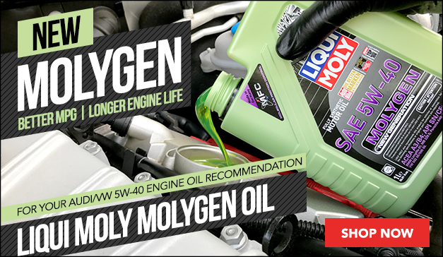 Liqui-Moly Molygen Oil for your Audi/VW