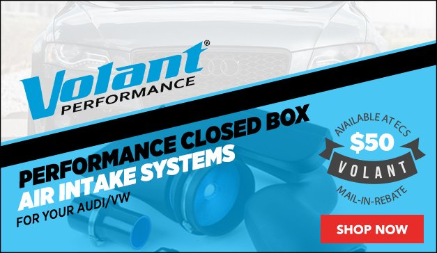 Volant Performance Closed Box Air Intakes | Audi/VW