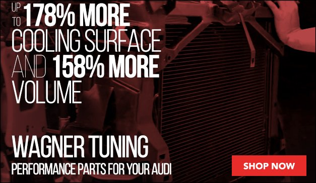 Wagner Tuning Performance Parts for your Audi