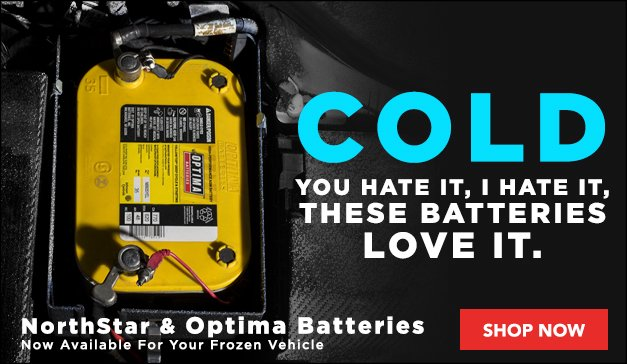 NorthStar & Optima Batteries Now Available
