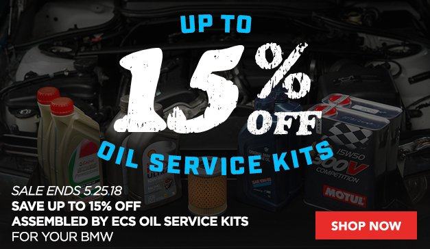 Up to 15% Off - Assembled By ECS Oil Service Kits