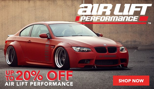 20% Off Airlift for your BMW