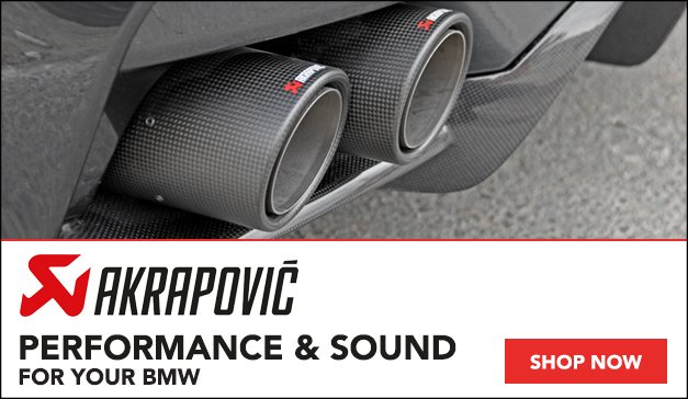 Akrapovic Performance Exhaust Systems | For Your BMW