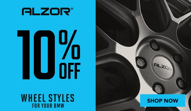 BMW - 10% OFF ALZOR WHEELS + NEW STYLES