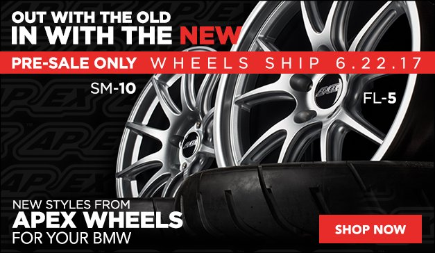 Apex Wheels Now Available