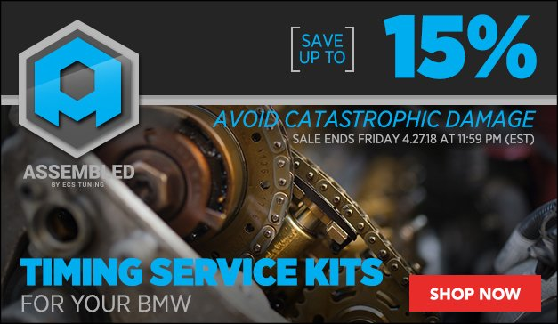 Product Title: Up to 15% Off Assembled By ECS Timing Service Kits