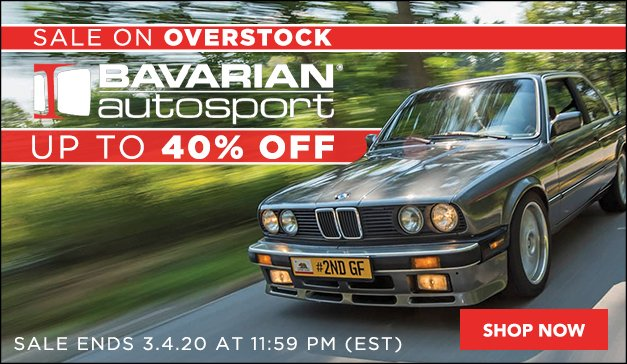 BMW Up To 40% Off BAVAuto Parts