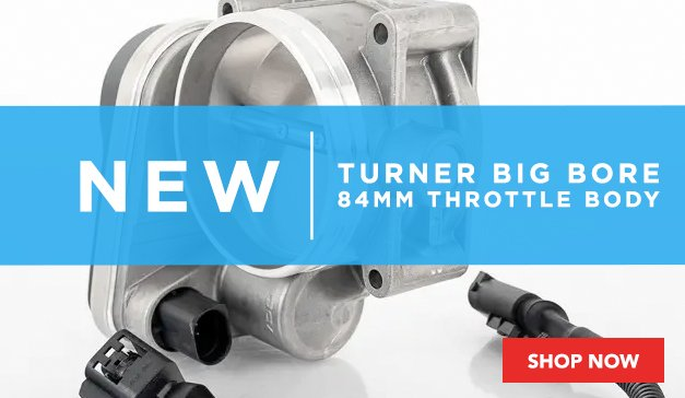 BMW - New Turner Big Bore 84mm Throttle Body Upgrade Kit