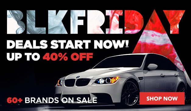 BMW - BLACK FRIDAY
