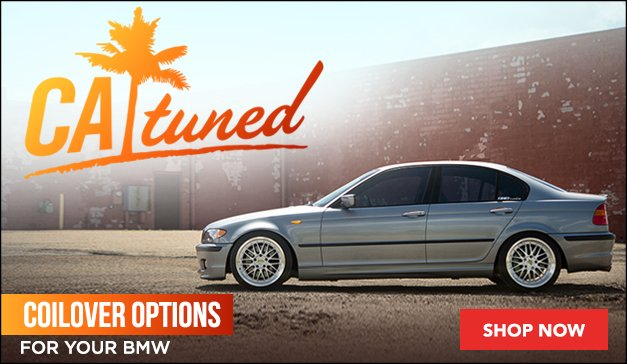 CATuned Coilover Options For Your BMW