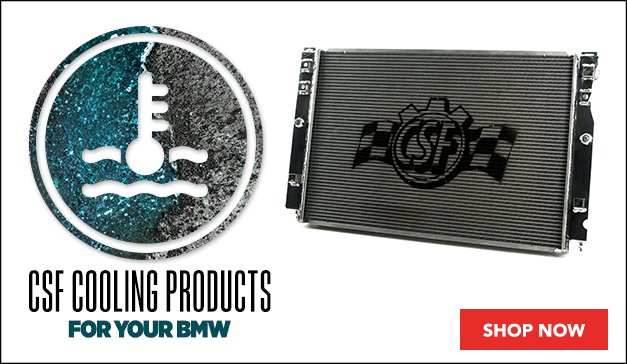 New CSF Performance Cooling Products - BMW