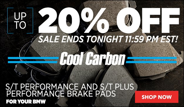 20% Off Cool Carbon S/T Plus Performance Brake Pads | GENERAL