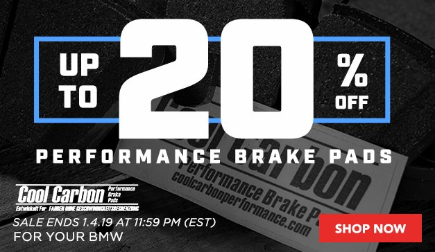 Up to 20% Off Cool Carbon Brake Pads