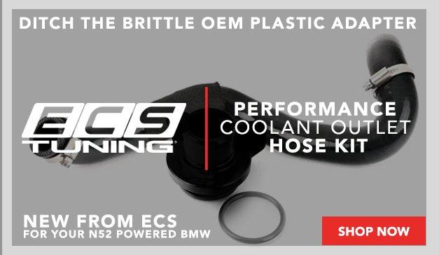 BMW - New N552 ECS Performance Coolant Outlet Hose Kit