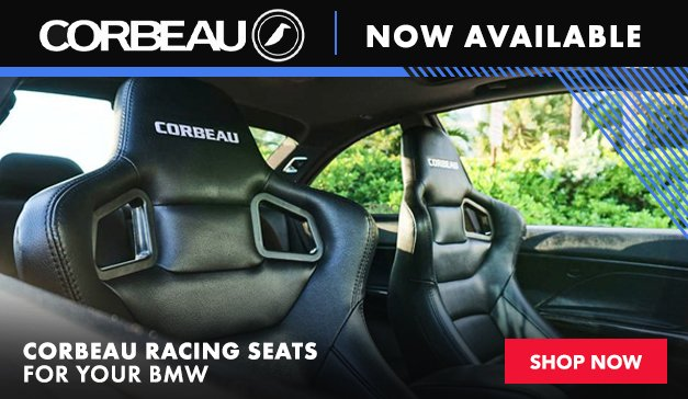 BMW - Now Offering Corbeau Racing Seats
