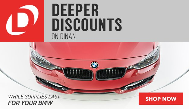 Deeper Discounts on DINAN Products (GLOBAL)