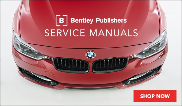 Bentley Publishers Service Manuals for BMW