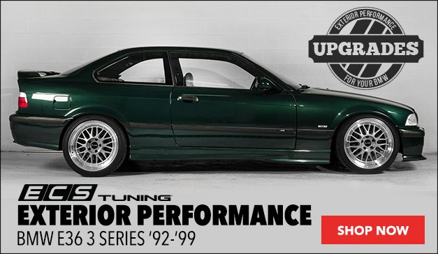 BMW E36 3 Series ECS Exterior Performance
