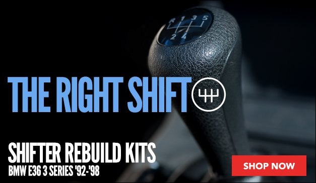 Shifter Rebuild Kit for your BMW E36 3 Series