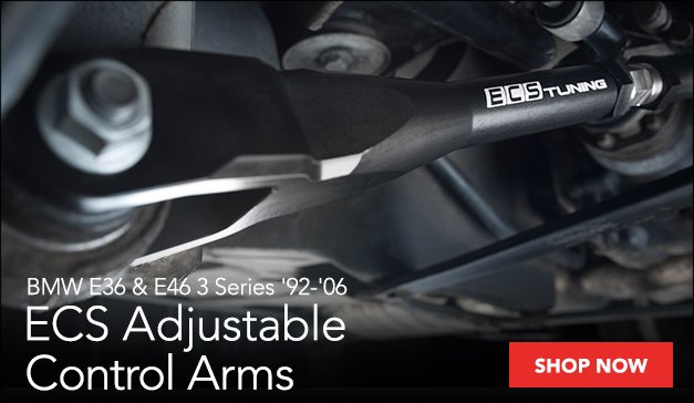 ECS Performance Adjustable Control Arms | BMW E36  E46