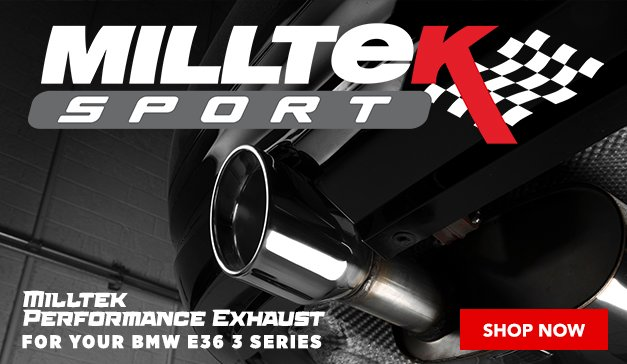 Milltek Performance Exhaust for your BMW E36 3 Series