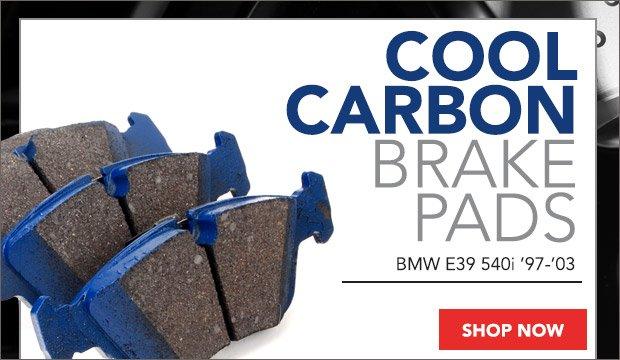 BMW E39 540i Cool Carbon Brake Pads