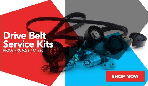 Drive Belt Service Kits | BMW E39 540i