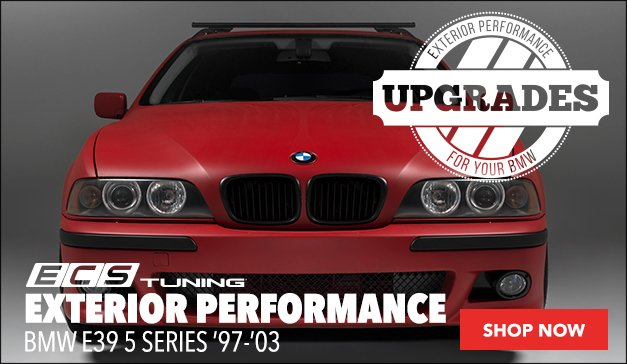 BMW E39 5 Series Exterior Performance
