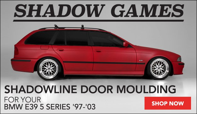 BMW E39 Shadowline Door Moulding