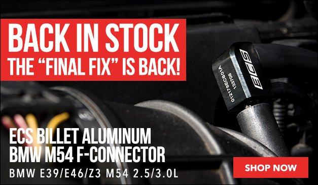 ECS Billet Aluminum M54 F-Connector