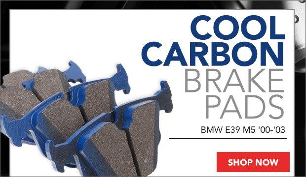 BMW E39 M5 Cool Carbon Brake Pads