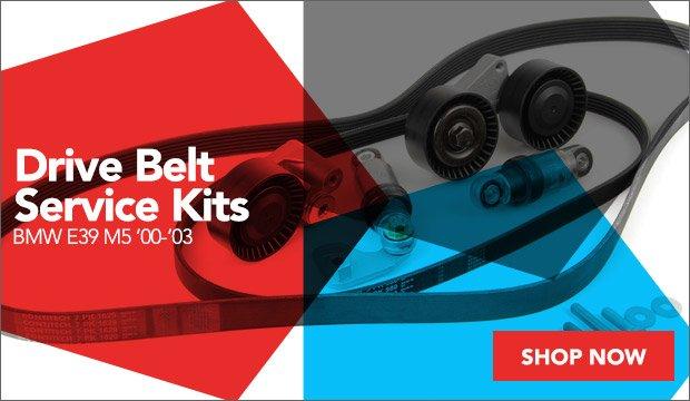 BMW E39 M5 Accessory Belt Kits