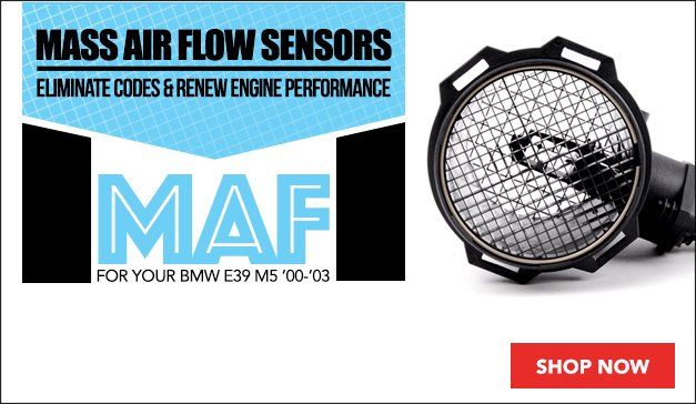 BMW E39 M5 Mass Air Flow Sensors