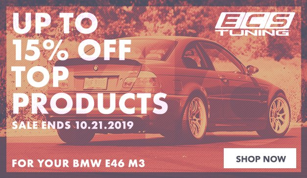 BMW - ECS Top Products - E46 M3