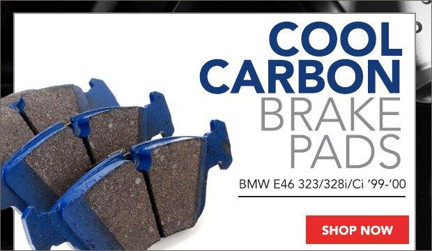 BMW E46 323/328i/Ci Cool Carbon Brake Pads