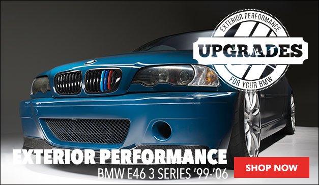 BMW E46 Coupe/Convertible ECS Exterior Performance