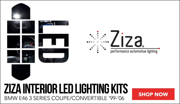 Ziza LED Lighting   BMW E46 Coupe and Convertible