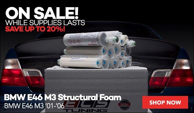 BMW E46 M3 Structural Foam - ON SALE