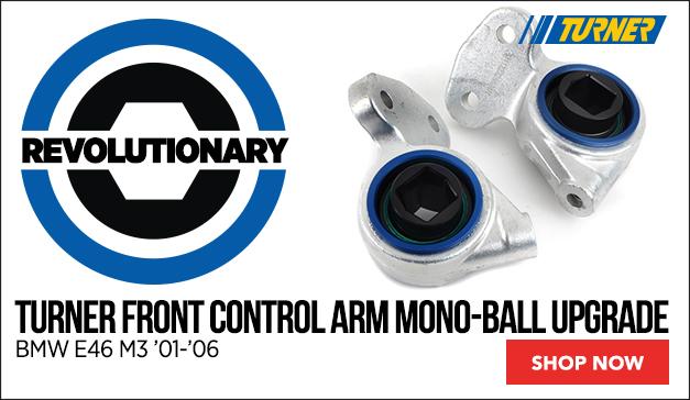 Turner Front Control Arm Mono-Ball Upgrade   BMW E46 M3