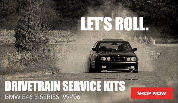 BMW E46 3 Series Drivetrain Service Kits