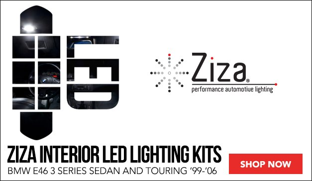 Ziza LED Lighting for your BMW E46 Sedan and Touring