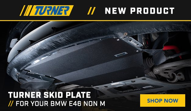 BMW - NEW E46 Non M Skid Plate