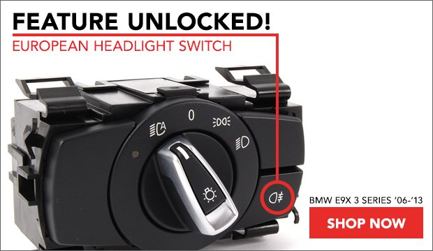 Euro Headlight Switch | BMW E9X 3 Series