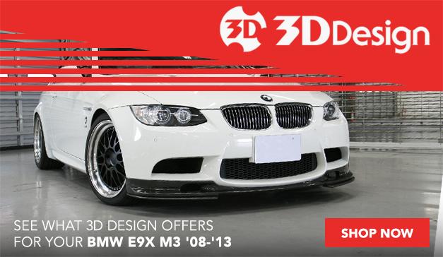 3D Design Components for your BMW E9X M3
