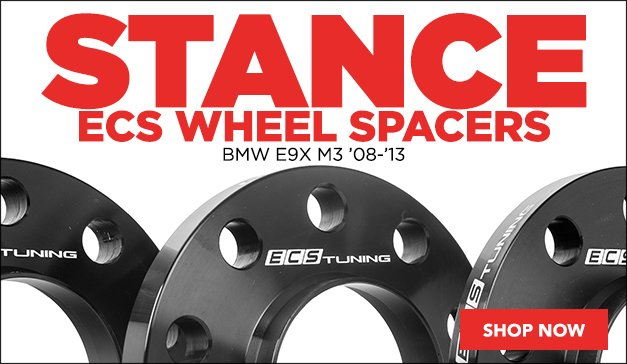 BMW E9X M3 ECS Wheel Spacers