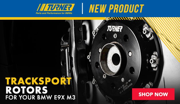 BMW Turner E9X M3 TrackSport Rotors